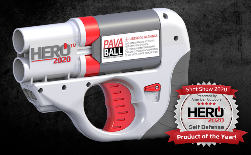 HERO™ 2020 is Shot Show Product Of the Year!