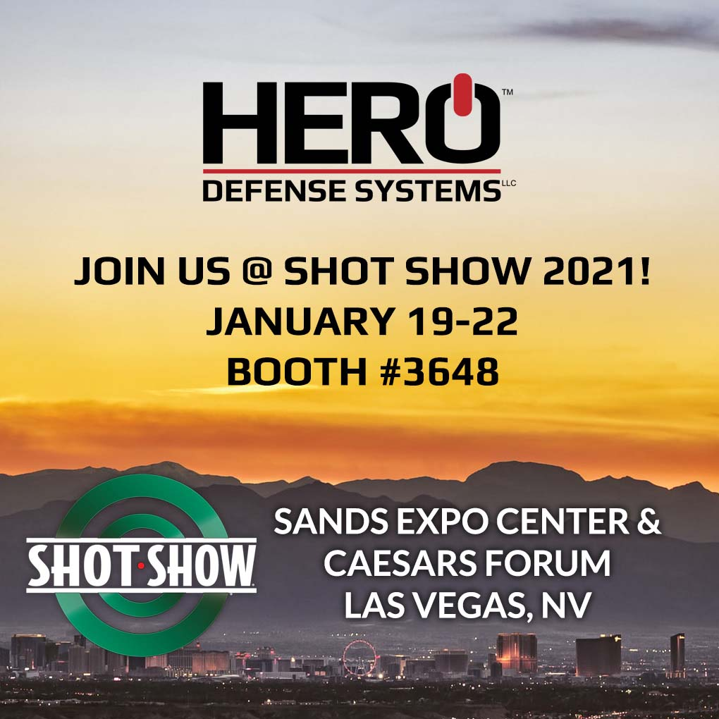 HERO™ Returning to Shot Show!
